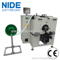 Horizontal type stator slot insulation paper insertion machinery