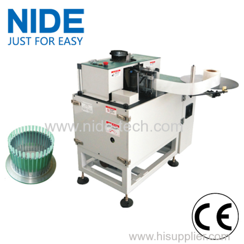 Stator Wedge insertion machine for multi sizes stator production