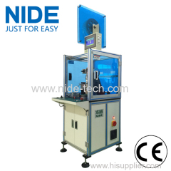 Single Working Station Wheel Motor Insulation Paper inserting machine
