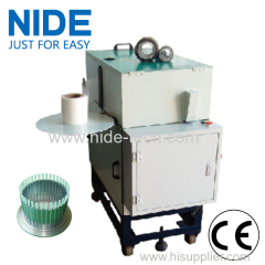 Economic type induction motor stator wedge preparing machine