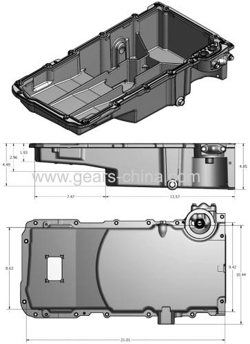 Automobile Parts Transmission Oil Pan Sump