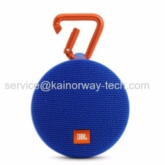 JBL Clip2 by Harman Portable Go+Play Water-Resistant Mini Bluetooth Speakers Blue For iPhone iPad iPod