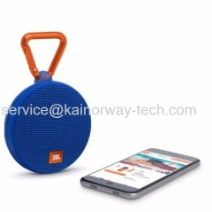 JBL Harman Kardon Clip2 IPX7 Rated Waterproof Ultra Portable Wireless Bluetooth StreamSpeaker Blue