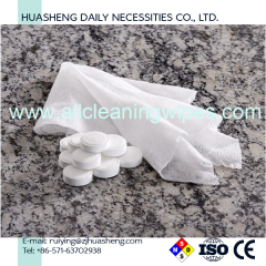 Compressed Mini Coin Tissue