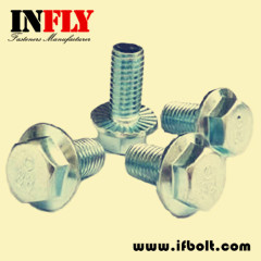 Hex Flange bolts DIN6921 Hexagon head flange bolt-Infly Fasteners