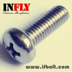 A Pan head machine screw GB818 Machine bolt-Infly Fasteners
