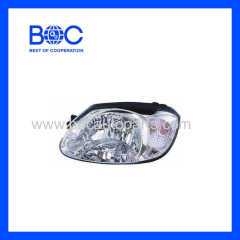 Head Lamp 92102-25511 92101-25511 For Hyundai Accent '03-'05