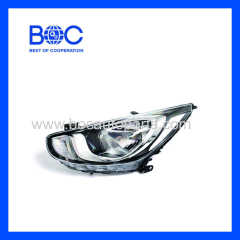 Head Lamp R 92102-1R020 L 92101-1R020 Middle East Type For Hyundai Accent '2011
