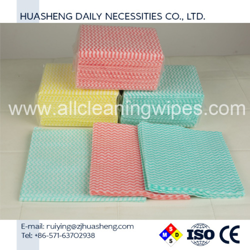 Multi-Use Reusable Wipes Nonwoven Cleaning Wipes