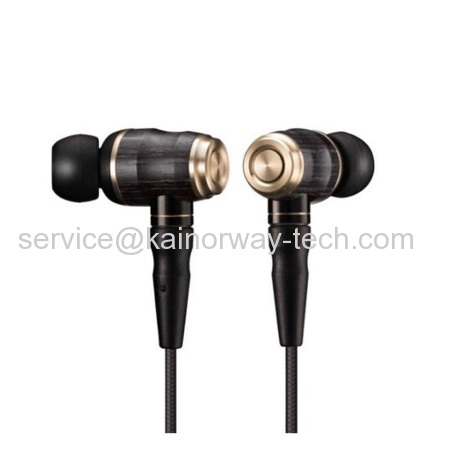 JVC Premium Inner-Ear Headphones Series HA-FX1200 Special Edition Black Wood