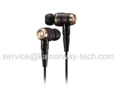 JVC Hi-Res HA-FX1200 Audio Wood Dome Unit In-Ear Noise Cancelling Headphones Earphones Black