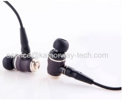JVC Hi-Res HA-FX1200 Audio Wood Dome Unit In-Ear Noise Cancelling Headphones Earphones Black