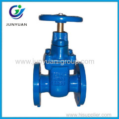 Pn 16 Cast Iron Flanged Gate Valve
