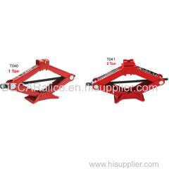 1-2 ton lifting manual cars scissor jack with handles