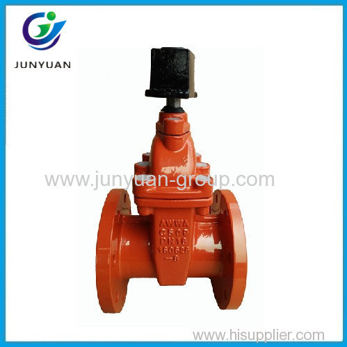 Awwa C509 Cast Iron Flanged Gate Valve