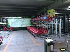 دراجة موقف للسيارات مع نظام تحديد البوابة