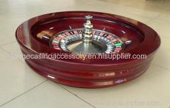 80cm Solid Wood Casino Roulette Wheels With Roulette Balls