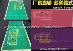 Roulette Wheels Table Felt Casino Layout Poker Table Cloth