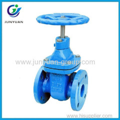 Pn10/Pn16 Cast Iron Flanged Gate Valve