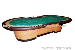 14/15/16 Players casino Standard Casino Baccarat Table Poker Table