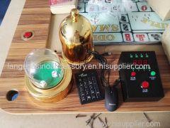 Craps Table Set Dice Button Craps Set Golden Electronic Craps Cases