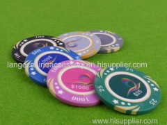 Luxury Casino Poker Chips For Texas / Baccarat / entertainment
