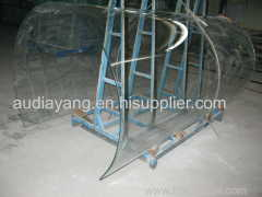 Tempered Laminated Curved Glass for building