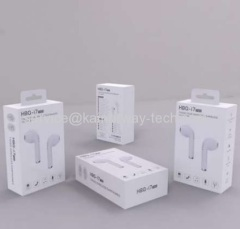 HBQ i7 TWS Twins True Mini Earbud In-Ear Wireless Earphones Sport Bluetooth Stereo Music Headsets From China Supplier