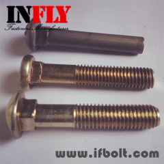 Small Head Carriage Bolt GB12 Small round head square neck bolt-Infly Fasteners Manufacturers
