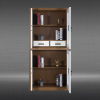 Steel Vertical Confidential File Cabinet with 2 Drawers