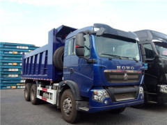 Widely Used Strong Power HOWO T5G 6X4 Dump Trucks