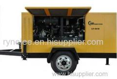 Diesel Movable Screw Compressor