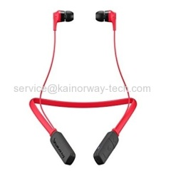 Wholesale SkullCandy Ink'd Wireless In Ear Bluetooth Earphone Headsets With Built-in Microphone Red Black