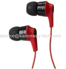 Skullcandy Ink'd Bluetooth Wireless In-Ear Headphone Earbuds With In-line Controls And Microphone Red Black
