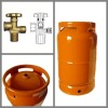 Gas Cylinders with Valve for Outdoor Camping