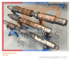 "9 5/8"" Retrievable Packer with mechanical setting for Fracturing operation"