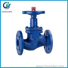 2017 TKFM water gas oil branch pipeline use DIN bellow seal bronze steam globe valve