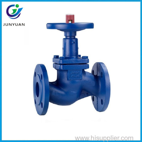 2017 TKFM water gas oil branch pipeline use DIN bellow seal bronze steam globe valve