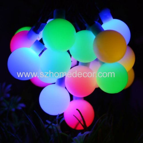 China supplier hot selling  wedding party outdoor 50led Bubble holiday lighting