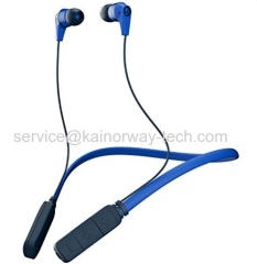 Skullcandy Wireless Ink'd In Ear Bluetooth Earphone Headsets With Mic Royal Navy