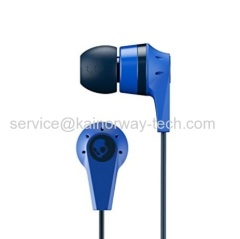 Skullcandy Ink'd Blue Black Bluetooth Wireless In-Ear Earbud With Built-in Microphone