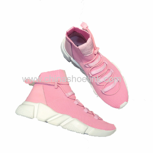 New Sock Shoes Women Sneakers Running Jogging Shoes Fly Knitting Shoes