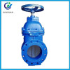 high pressure 4 inch DIN F4 ductile cast iron ggg50 resilient seated NRS sluice gate valve