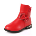 Children round toe winter ankle boots