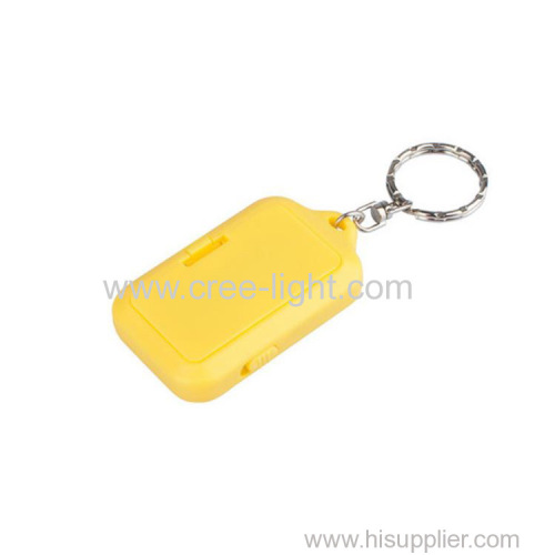 2018 new mini gift led cob keychain for promotion