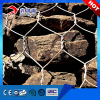 High quality PE/PVC coated gabion box flood protection 2*1*1m gabion basket stone cages for sell