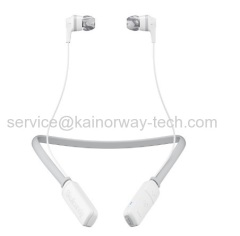 Wholesale SkullCandy Ink'd Wireless Bluetooth In Ear Headphones Headsets With Mic White Grey