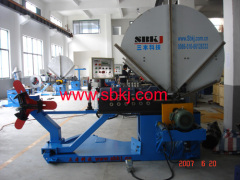 Automatic high speed spiral tubeformer