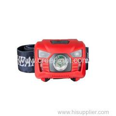 high power multi-function led waterproof headlamp