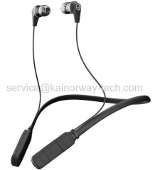 New Skullcandy Ink'd Bluetooth Wireless Earbuds Ink'd Headphone Headsets Black Grey With Built-in Microphone